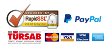 CREDIT CARD, PAYPAL, SSL CERTIFICATED